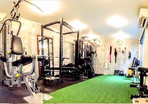 渋谷のパーソナルトレーニングジム shibuya fitness sharez 松濤の店舗