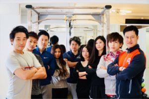 Shibuya Fitness Sharez のフリーランスのトレーナー陣