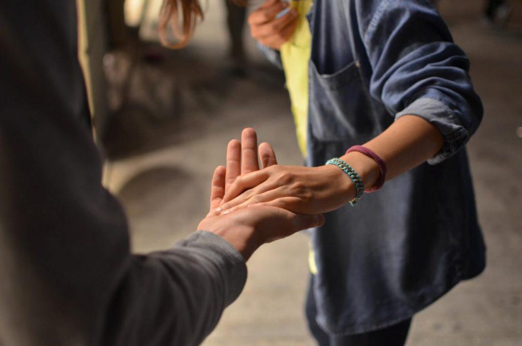 集客のポイントその1「困っている人を助ける」